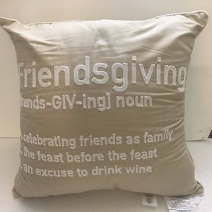 Other - Friendsgiving Throw Couch Decor Pillow